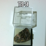Rhyolite natural Crystal rock  specimen